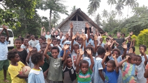 School Group with Vanuatu Ecotours