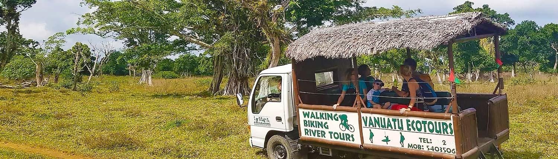Vanuatu Ecotours biking